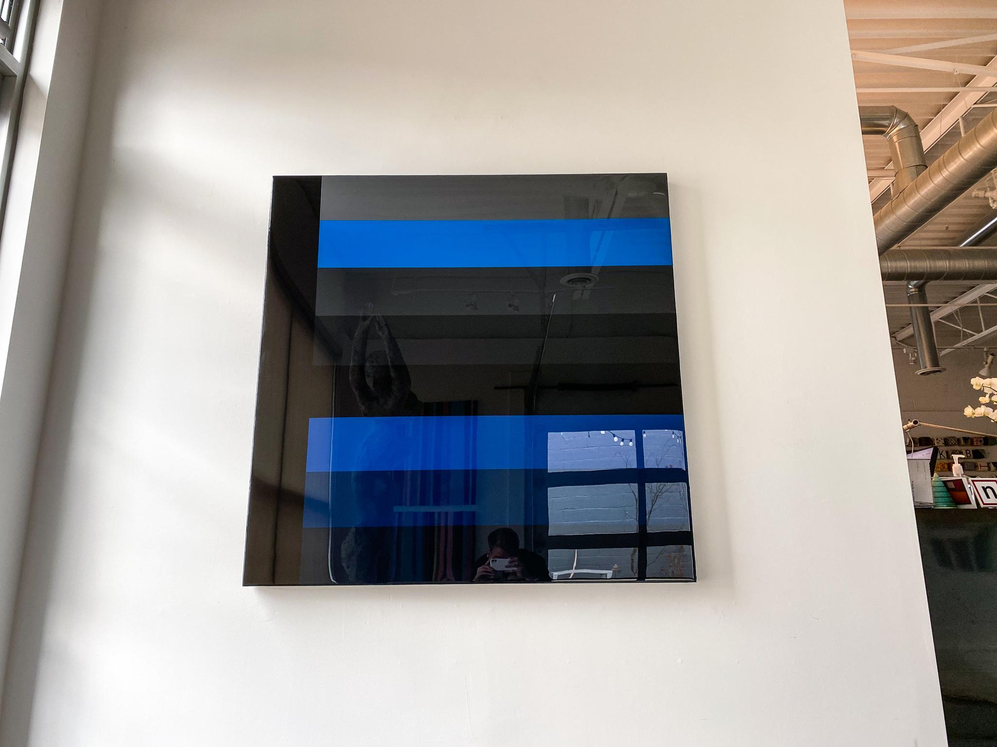 Blue to Black